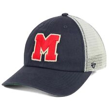 new style 247da cb492 Mississippi Rebels Ole Miss  47 Brand NCAA Tally Closer S M Flex Fitted Cap