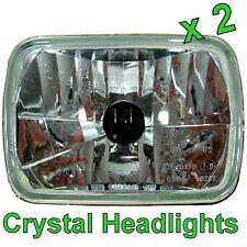 PAIR of Crystal  H4 HEADLIGHTS for Isuzu TF Pickup Vauxhall Brava headlamp 2500