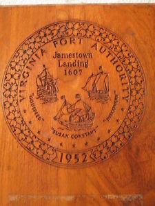 Ship Shield Plaque & Signs Vintage Maritime Antiques Ship's Original S040 (18)