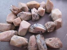 White African Opal Faceted Nuggets Beads 20pcs