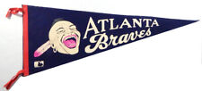 "Vintage 1969 Atlanta Braves Full Size Pennant 29.5"""