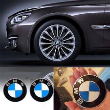 2X BMW 68mm NABENDECKEL RADNABENDECKEL NABENKAPPEN RADKAPPE FELGENDECKEL EMBLEME