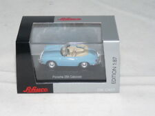 Schuco 26278 Porsche 356 Cabrio - blau 1:87 NEU + OVP
