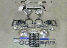 "1949-54 Chevy Car Mustang II Bolt On Front Suspension Kit Manual 2"" Drop Slotted"