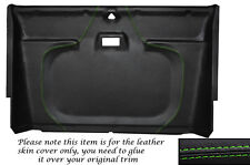 GREEN STITCH FRONT ROOF LINING HEADLINING COVER FITS LAND ROVER DEFENDER 90 110