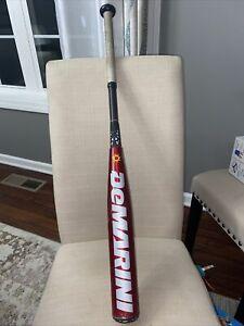 """DeMarini Voodoo Overlord Baseball Bat X12 Alloy 2-1/4"""" 31""""/18oz  -13 Half & Half"""