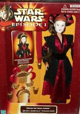 Dolls Star Wars Queen Amidala Ultimate Hair Costume Figure Toy Xmas Gift Rare