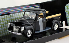 Ford Pick up 1940 schwarz 1:24 Motor Max Modellauto 73234