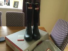 Hunter Wellies Womens Neoprene Black Size 6 UK Eu 39
