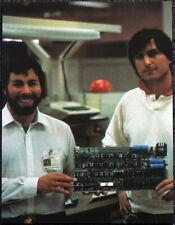 Steve Jobs et Steve Wozniak Poster page. les ordinateurs Apple. W18