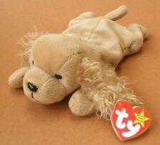 Ty Spunky Tan Cocker Spaniel Beanie Babies Dog 1997 with Tag