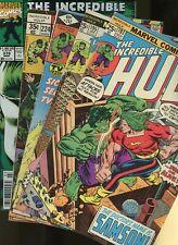 Incredible Hulk 193,195,242,222,379 *5 Books* Marvel! Banner,Samson,Ross,Clay