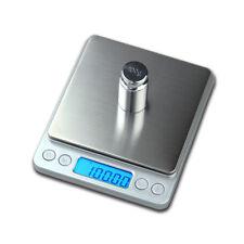 Mini 0.01 X 500g Acero Inoxidable Peso Digital de bolsillo joyería escala de equilibrio de laboratorio