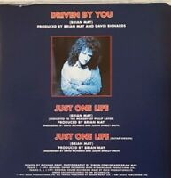 BRIAN MAY from QUEEN : DRIVEN BY YOU / JUST ONE LIFE (GUITAR MIX) ♦ CD-MAXI ♦