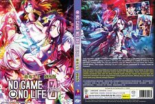 ANIME DVD~No Game No Life:Zero(The Movie)Eng sub&All region FREE SHIPPING+GIFT