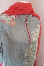 Punjabi Suit Indian Designer Bollywood Pakistani Ethnic Embroidery Kameez /Kurta