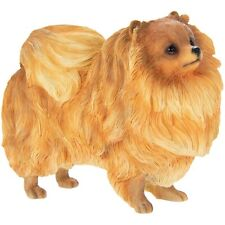 More details for pomeranian dog ornament figurine gift boxed