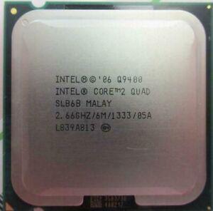 Intel Core 2 Quad Q9400 SLB6B 2.66GHz LGA775 6MB Cache 95W Yorkfield CPU