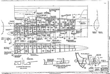 SUPERMARINE  SPITFIRE PLANS FULL SET DRAWINGS 1940's ISSUE rare details historic