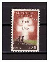 S24617) France 1960 MNH Resistance 1v