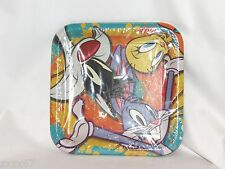 NEW 8 LOONEY TUNES SHOW LUNCH PLATES PARTY SUPPLIES TWEETY SYLVESTER BUGS BUNNY