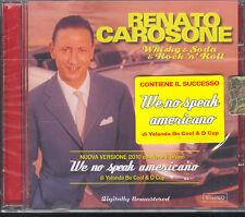 RENATO CAROSONE - WHISKY & SODA & ROCK' N' ROLL - CD (NUOVO SIGILLATO)
