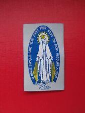 écusson insigne patch religieux Scapulaire O Marie Conçue sans péché scout KTO