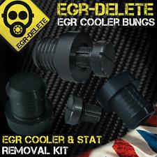 Bmw série 5 egr supprimer 520i 525d 530d 535d xd egr cooler removal kit bonde plaque