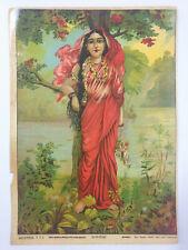 Vintage Print VASANTIKA Ravi Varma 7in x 10in