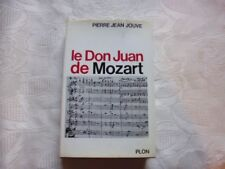 JOUVE Pierre Jean -  LE DON JUAN DE MOZART.