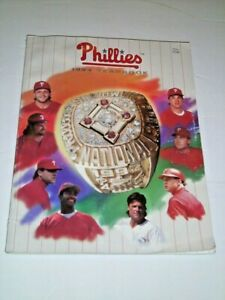PHILLIES 1994 Yearbook Philadelphia, Pa.