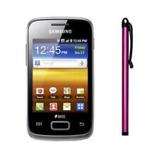 Punteros de plástico de color principal rosa para teléfonos móviles y PDAs Universal