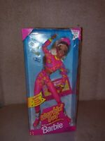 NIB Vintage 1996 Mattel Workin Out Barbie With Music Cassette Tape.