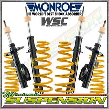 FORD FALCON BA XR6 SEDAN 30mm  LOW KING of SPRINGS & MONROE GT SPORT SHOCKS