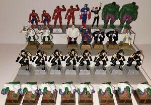 (31) Marvel Heroes Chess Set Pieces - 2003 Pressman