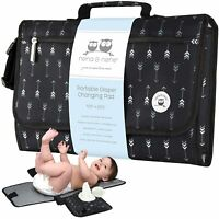 Portable Changing Pad for Baby | Waterproof Changing Pad Station for Travel with