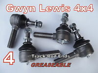 Land Rover Discovery Track Rod Ends GREASEABLE SUMOBARS + Range Rover Classic