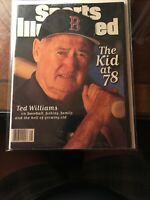 Sports Illustrated November 25, 1996 - Ted Williams The Kid At 78 NO LABEL NrMt