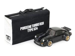 TAMIYA 1/10 RC PORSCHE TURBO RSR TYPE 934 BLACK EDITION 4WD