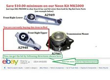 Engine/Trans Right Upper DEA A2948 00-05 Dodge Neon avail in MK5000 Neon kit too