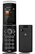 6Sony Ericsson W980 Black 3G Cellphone Unlocked free shipping Music phone