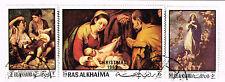 Ras Al Khaima Art Famous Murilllo Paintings stamps set 1969