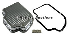 GM Turbo 400 Polished Aluminum Transmission Pan Kit w/ Gasket and Bolts TH400