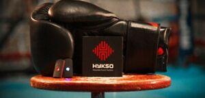 Hykso Boxing Tracker punching mma fitness gloves  black friday