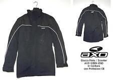 GIACCA MOTO/SCOOTER AXO WEEK-END - col. NERO Tg. S con PROTEZIONI CE