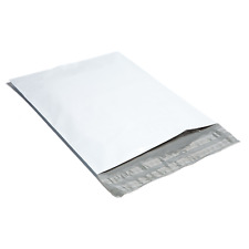 200 #3 9x12 White Poly Mailers Shipping Envelopes Plastic Mailing Bags By Bag