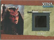 "Xena Season 6 - R5 RUBBER VARIANT ""Demon Xena"" Costume Card"