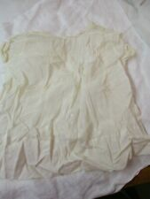 Vintage 1950's hand made Child's white Dress embroidery Tucking
