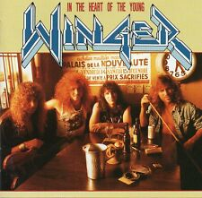 Winger In the Heart of the Young Japan CD 11 Trx 1990 Hard Rock AMCY-120 No Obi