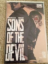 Sons of the Devil 2 Image Expo 2015 Exclusive Variant Nm Buccelato Infante